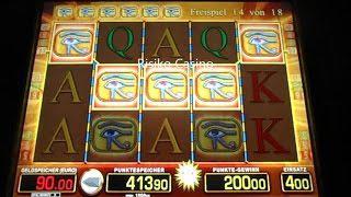 JACKPOT GEKNACKT!!! Eye Of Horus, Freispiele Auf 4€ Einsatz, Merkur Magie
